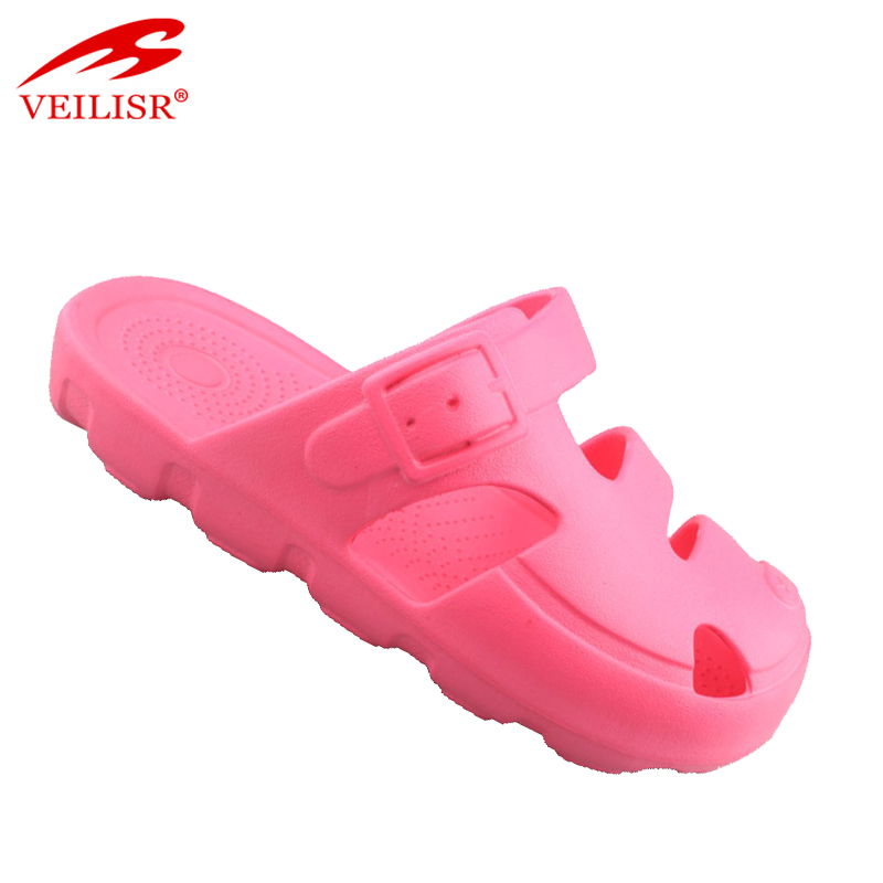 New colorful blank eva kids clogs beautiful girls sandals