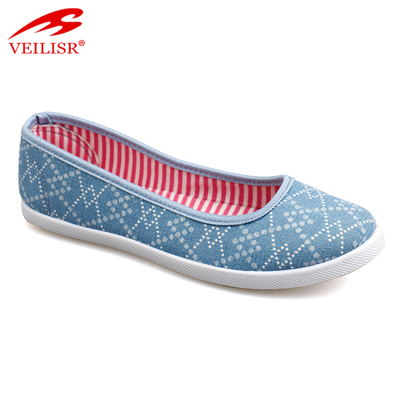 New fashion children slip on footwear kids casual canvas shoes
