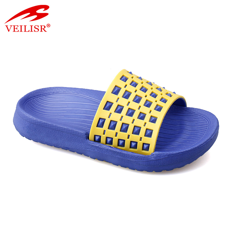 New model swimming pool PVC slide sandals kids beach slippers