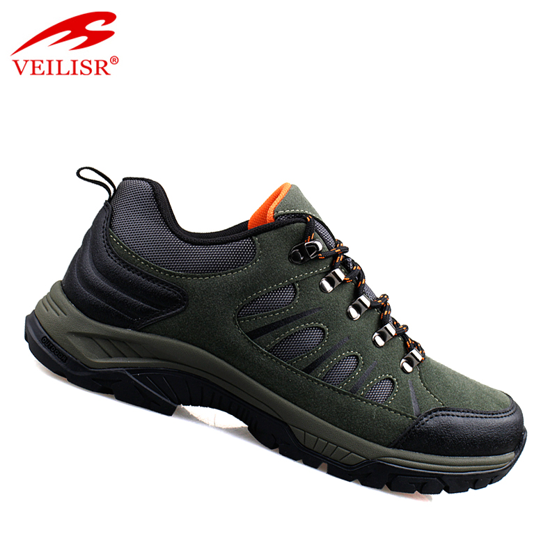 Zapatos trekking sneakers synthetic leather men hiking shoes