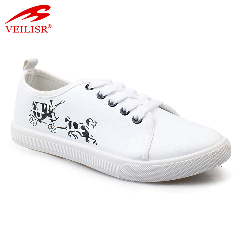 Outdoor fashion ladies canvas sneakers women casual shoes
