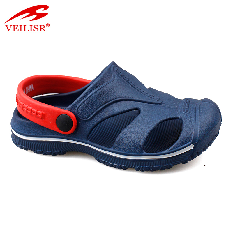 Most popular summer beach sport EVA sandals kids garden clogs