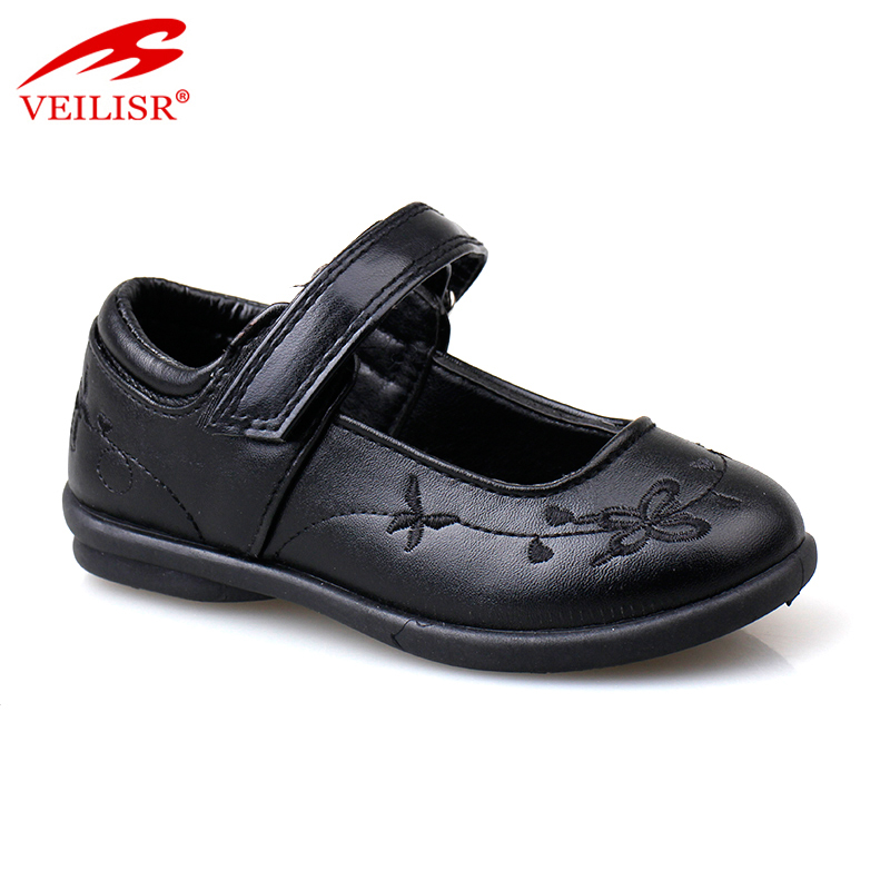 Outdoor PU upper school fashion slip on sneakers kids casual shoes