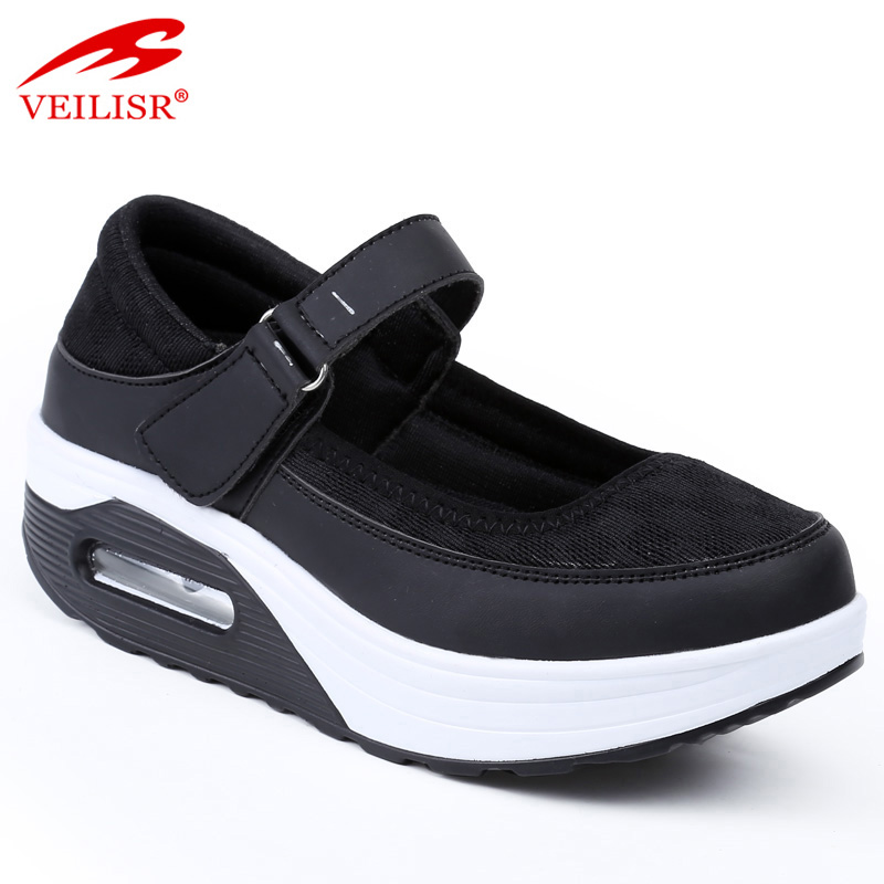 OEM/ODM Manufacturer Yoga Shoes - Outdoor PU upper ladies Shake sneakers women platform shoes – OLICOM