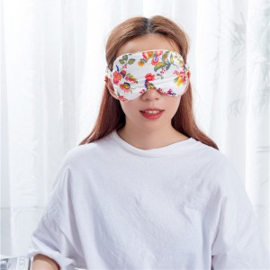 Poly satin eye mask