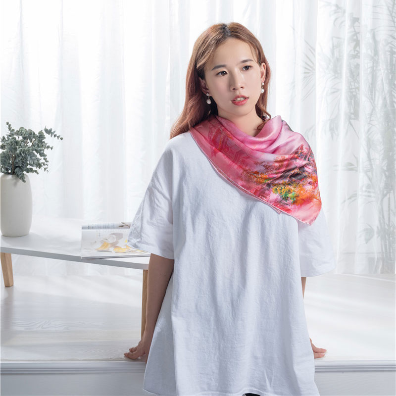 Good Quality Scarf - Luxury fashion scarf shawl  – Wonderful Textile