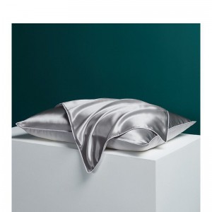 OEM Manufacturer Satin Pillow Cover - Poly satin pillow case  – Wonderful Textile