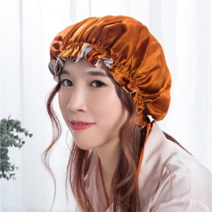 Cheap price Hair Bonnets - Silk night bonnet  – Wonderful Textile