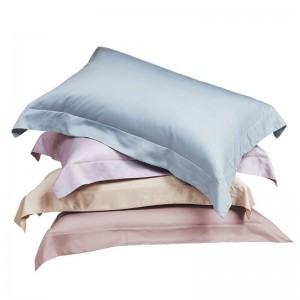 OEM Supply Pink Satin Pillow Case - Fashion polyester pillow case  – Wonderful Textile