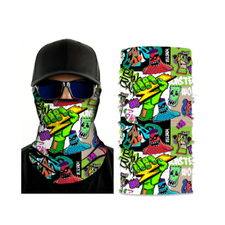 Professional China Gaiter Neck - Good Quality Skull  Bandanas  – Wonderful Textile