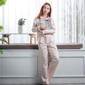 Factory wholesale Ladies Silk Pyjamas - 100% silk pajamas  – Wonderful Textile