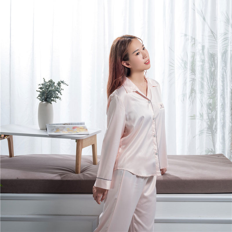 Manufacturer of Sex Silk Sleep Wear - 100% silk pajamas  – Wonderful Textile