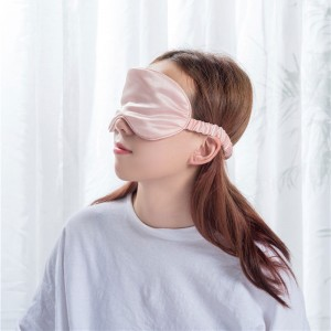 Pink color eye mask