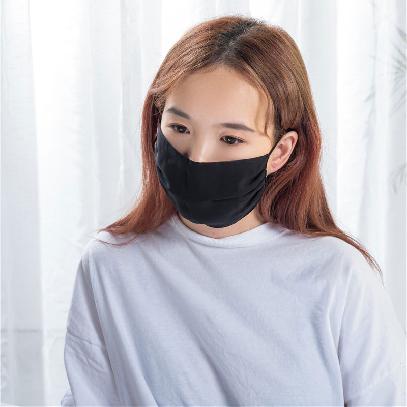 Hot sale Embridery Logo Eye Cover - Silk Face Mask  – Wonderful Textile