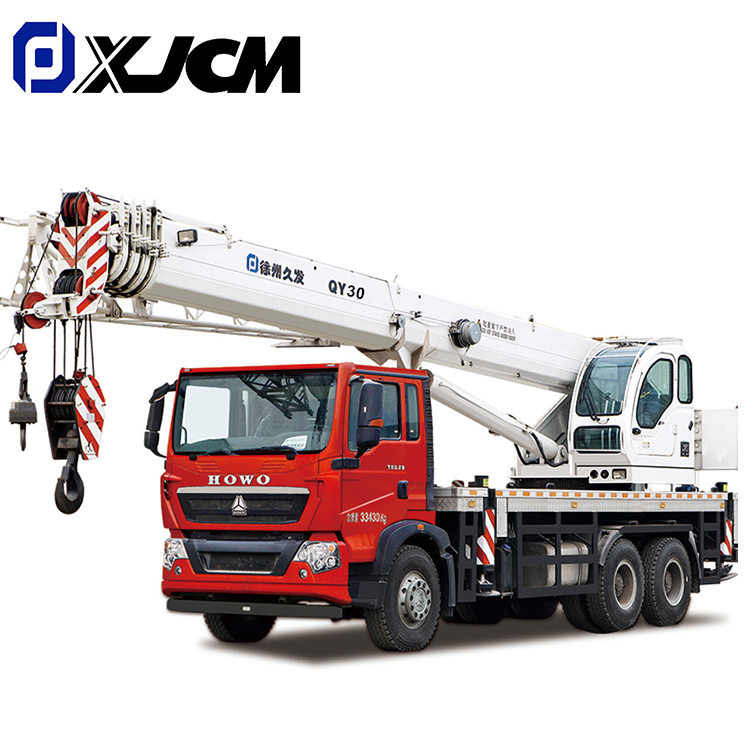 2020 Good Quality Rock Bucket - XJCM brand 30 ton truck mounted crane – Jiufa Featured Image