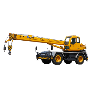 10 ton mobile rough terrain crane