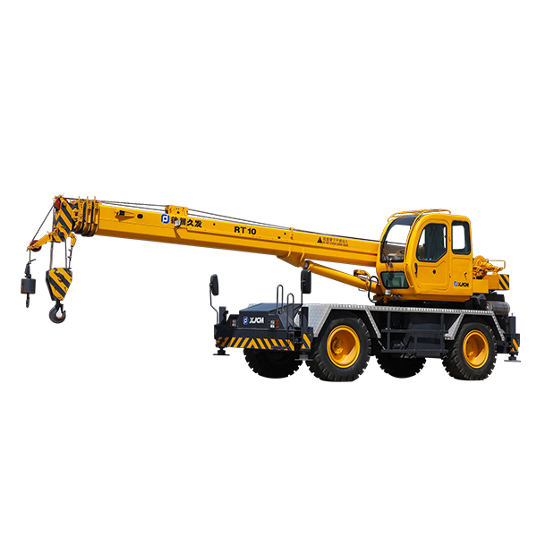 Factory Outlets Boom Crane For Sale - 10 ton mobile rough terrain crane  – Jiufa