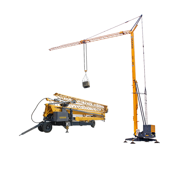 Factory directly Crane Boom - XJCM brand 4 ton  erecting mini tower crane for sale – Jiufa