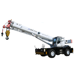 Bottom price Chinese Crane - 50 ton construction knuckle boom rt crane – Jiufa
