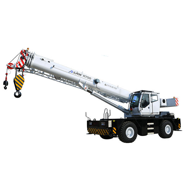 2020 Latest Design Crane Lifting Crane - 50 ton construction knuckle boom rt crane – Jiufa