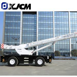 China Low Cost Construction 50 Ton Rough Terrain Crane For Sale