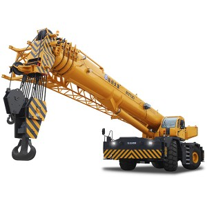 XJCM brand 130ton heavy rough terrain mobile crane