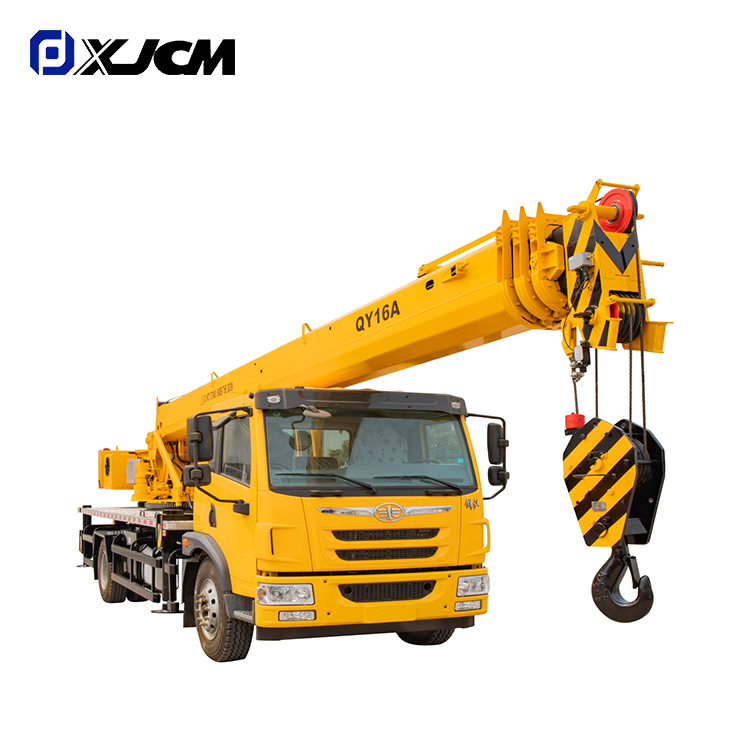 Factory For Pipelayer - XJCM brand 16 ton small boom truck crane – Jiufa