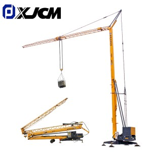 Factory Supply Folding Tower Crane - XJCM brand 3 ton contruction mini tower crane – Jiufa