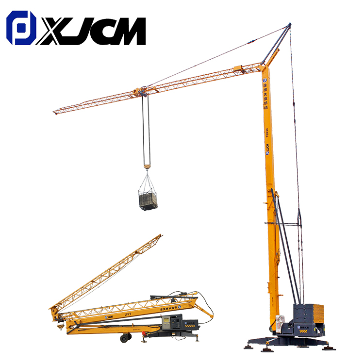 Cheap PriceList for Tower Crane Construction - XJCM brand 3 ton contruction mini tower crane – Jiufa detail pictures