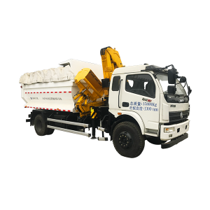 Popular Design for Mobile Crane Dimensions - XJCM brand Self Loading and Unloading Sanitation Truck – Jiufa