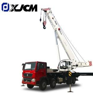 Knuckle Boom 50 Ton Mounted Truck Crane for Construction