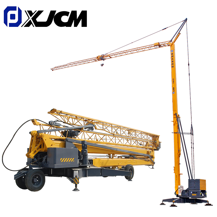 New Delivery for Pipe Laying Construction - 2 ton mini mobile tower crane for sale – Jiufa