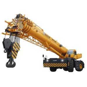 XJCM 130 ton rough terrain mobile crane