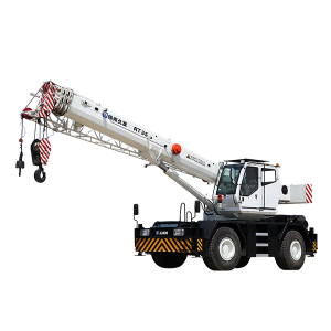 Big Discount Mobile Crane 25 Ton Price - XJCM 35 ton Mobile Rough Terrain Other Cranes – Jiufa