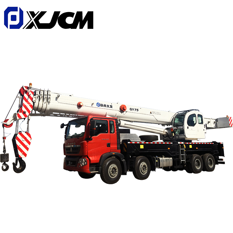 Wholesale Price 100 Ton Truck Crane - XJCM brand knuckle boom crane truck 75 ton – Jiufa Featured Image