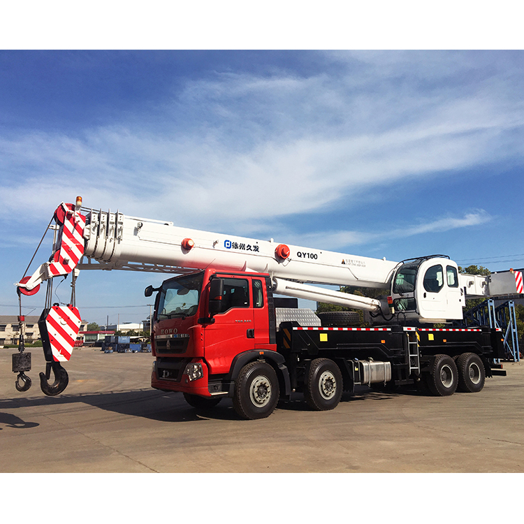 OEM Factory for Assentador De Tubos - 100 ton hydraulic mobile truck crane for sale – Jiufa