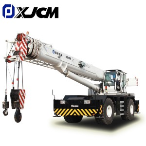 Chinese wholesale Hydraulic Rough Terrain Crane - 100 ton construction machine rt crane for sale – Jiufa