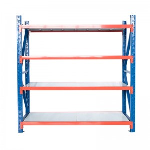 Middle duty warehouse rack