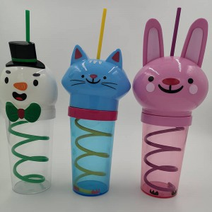 Short Lead Time for Reusable tumbler - Plastic cups-Houseware-YJ1004 – Yjie