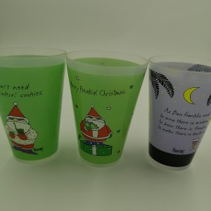 PriceList for Plastic mugs for bathroom - Plastic cups-Houseware-YJ1020 – Yjie