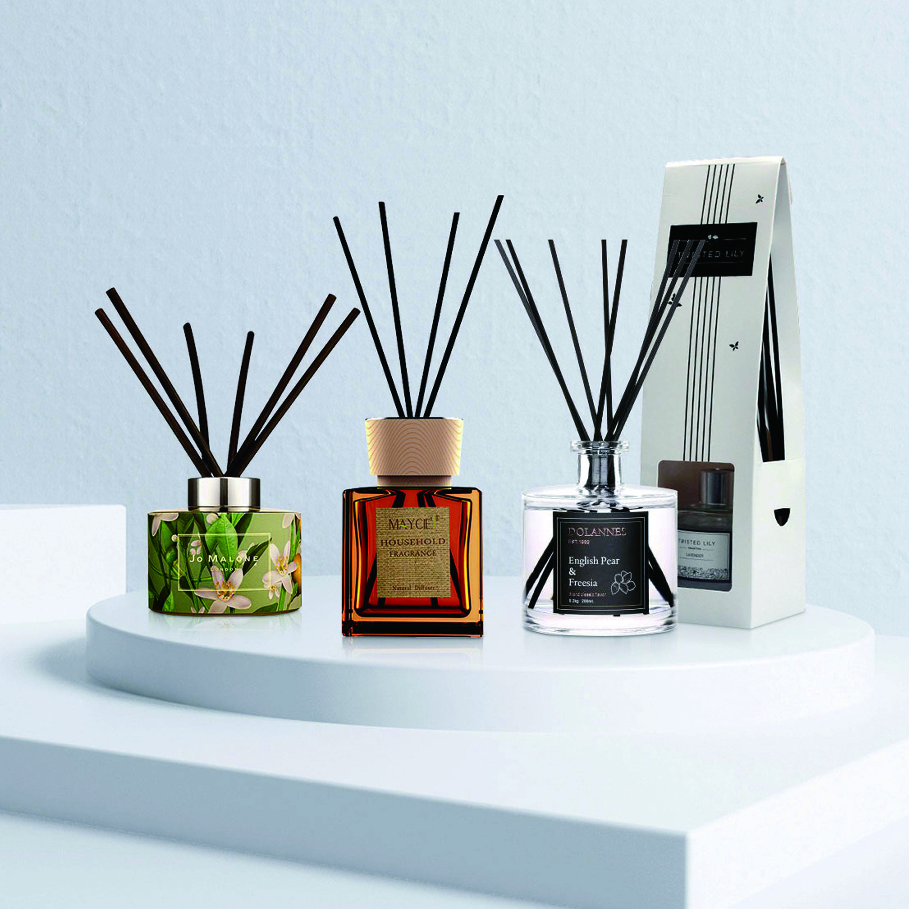 COMI AROMA-update of reed diffuser catalogue!