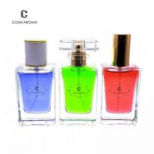 30ml Cosmetic Packaging Containers Clear Perfume Glass Bottle