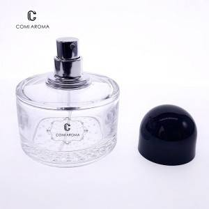50ml Empty Glass Spray Perfume Bottle Refillable Perfume Spray Bottle