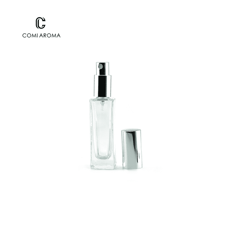 30ml Wholesale Clear Cosmetic Glass Bottles Sprayer Perfume Bottles Featured Image
