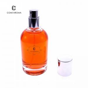 50ml Wholesale Sprayer Bottle Clear Perfume Glass Bottle