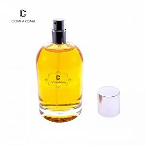 100ml High Quality Round Shape Clear Empty Aroma Perfume Bottle