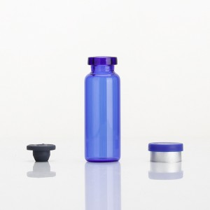 Reasonable price Clear Dropper Bottles - 5ml Blue Borosilicate Glass Vials – Comi