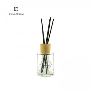 Wholesale Best Reed Diffuser Scents Factory - 120ml Round Shape Diffuser Aroma Glass Bottle for Home Decoration – Comi