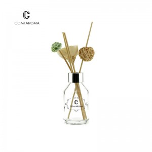OEM Beauty Care Packaging Suppliers - Wholesale 100ml Transparent Glass Perfume Reed Aroma Diffuser Bottle – Comi