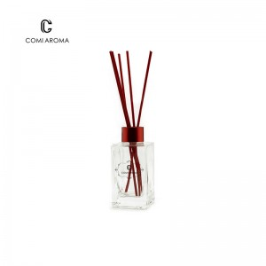 OEM Reed Diffuser Factory - 150ml Square Diffuser Glass Bottle with Stopper and Screw Cap – Comi